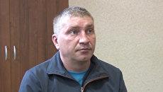 Дмитрий Долгополов, задержанный ФСБ РФ в Симферополе по обвинению в передаче спецслужбам Украины сведений, составляющих государственную тайну. 29 сентября 2017
