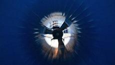 Внутри большой аэродинамической трубы