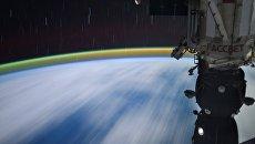 Снимок космонавта Сергея Рязанского из космоса