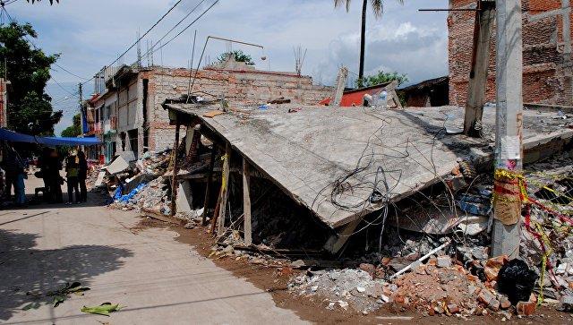 В Мексике произошло почти 13 тысяч землетрясений за три месяца