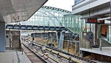Станция Кунцевская Московского метрополитена. Архивное фото