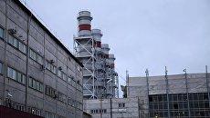 Здание Якутской ГРЭС, где произошла авария. 1 октября 2017