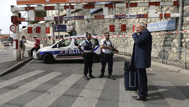 На вокзале Сен-Шарль в Марселе. Архивное фото