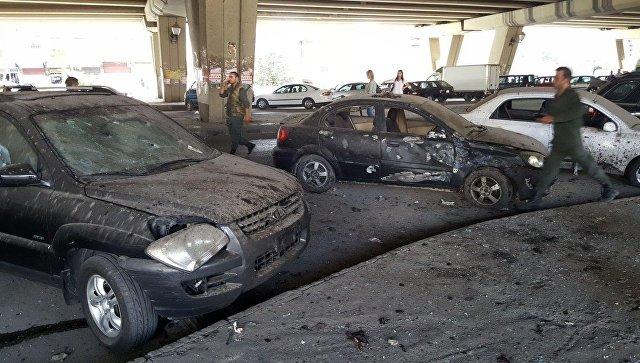При взрыве вполицейском участке вДамаске погибли 11 человек