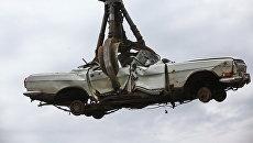 Утилизация автомобилей в РФ. Архивное фото