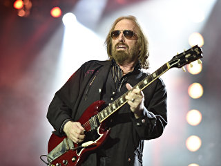 Фронтмен американской рок-группы Tom Petty and the Heartbreakers Том Петти. Архивное фото