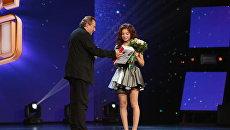 Алексей Учитель и Мария Раккси на конкурсе Ты супер! Танцы