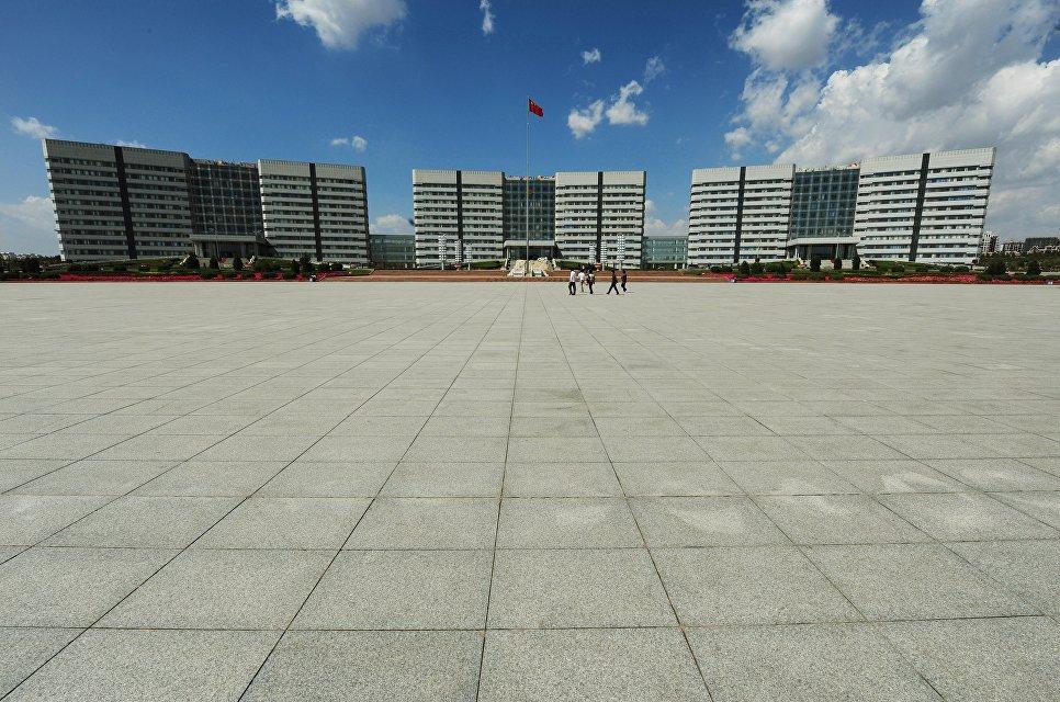 Правительственные учреждения в Ордосе