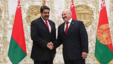 Встреча президента Белоруссии Александра Лукашенко с президентом Венесуэлы Никалосом Мадуро. 5 октября 2017