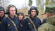 Военнослужащие во время батальонных тактических учений