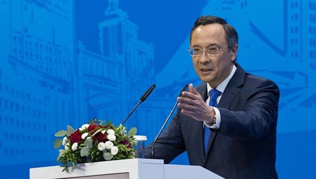 Министр иностранных дел Казахстана Кайрат Абдрахманов. Архивное фото