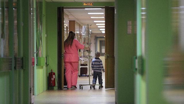 Работа онкологического отделения, архивное фото