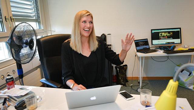 Массовый секс в офисе видео
