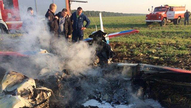 ВМинводах возбудили уголовное дело пофакту крушения самолета
