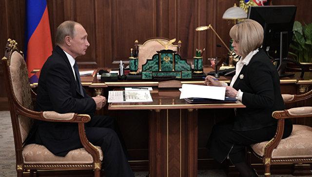 Путин поручитСК ипрокуратуре проверить случаи нарушений навыборах