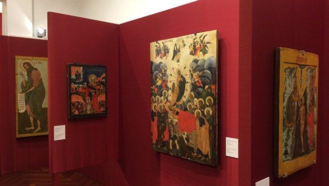 Выставка русских икон в Риме. 9 октября 2017