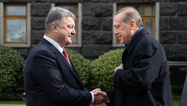 Мынепризнаем преступную  аннексию Крыма— Эрдоган вКиеве