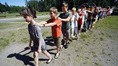 Детский лагерь. Архивное фото