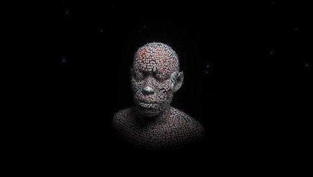 Кадр из видео, иллюстрирующего как российские ученые визуализировали Homo sapiens, живших 30 тысяч лет назад