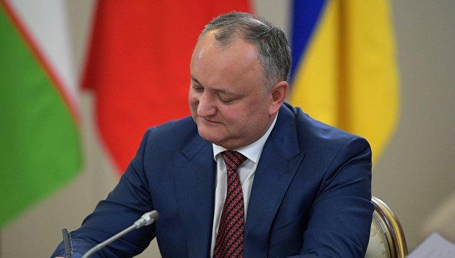 Президент Молдавии приедет в Москву на неформальный саммит лидеров СНГ