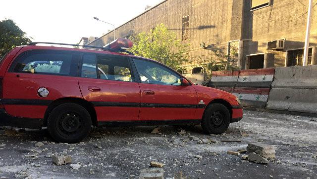 В Дамаске двое смертников взорвали бомбы рядом с отделением полиции