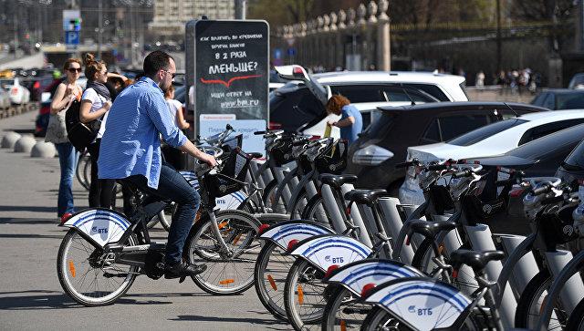 Ссамого начала велосезона в2015-м году совершено 2,2 млн. поездок