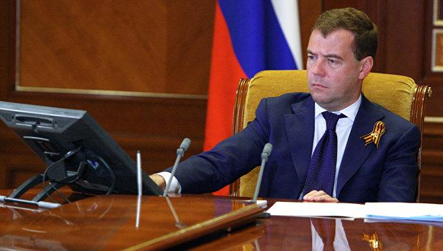 Медведев раскритиковал сегодняшний объем интернет-торговли вРФ