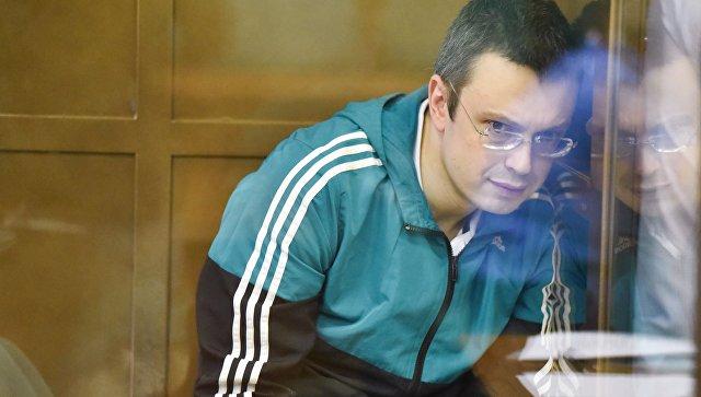 Денис Никандров в Мосгорсуде. 17 октября 2017