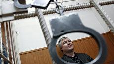 Бывший сенатор от Башкирии Игорь Изместьев в Басманном районном суде.