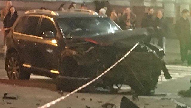 МВД Украины уточнило число погибших при ДТП с Lexus в Харькове