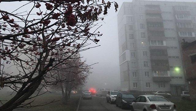 Аэропорт Кемерово не смог принять несколько самолетов из-за густого тумана