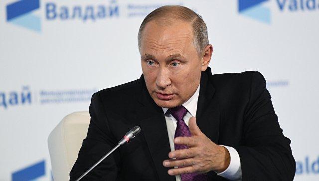 Путин пообещал зеркальный ответ вслучае выхода США из контракта оРСМД