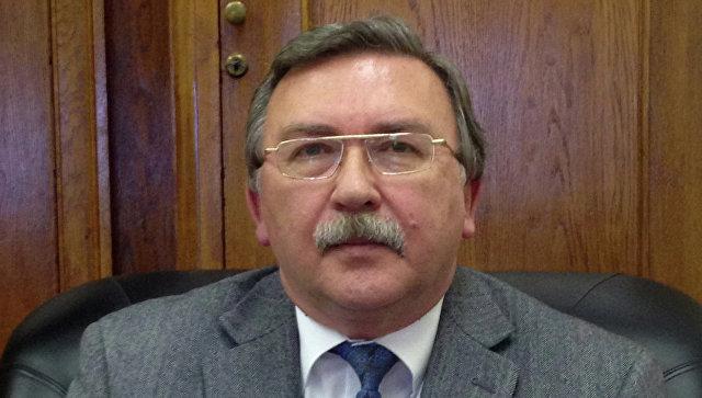 Директор Департамента по вопросам безопасности и разоружения МИД России Михаил Ульянов