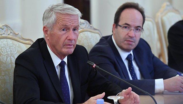 Ягланд отметил большое значение России для Совета Европы