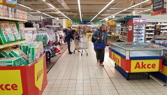 Чешский супермаркет