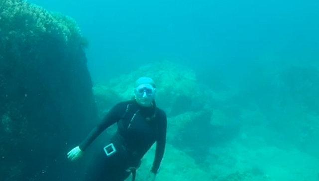 Фридайверы в Приморье: как стать счастливым под водой
