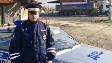 Инспектор ДПС Бахыш Керимов, вынесший из горящего дома четырех детей
