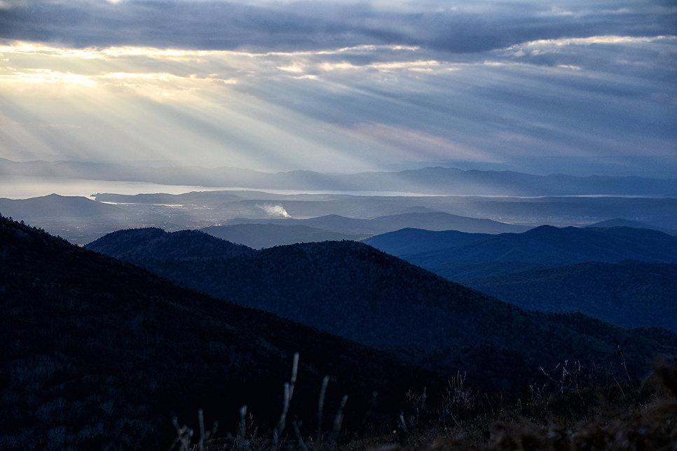 Вид с горы Воробей