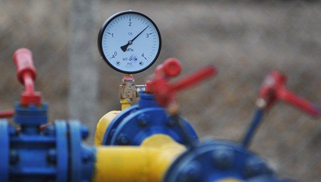 Компрессорная установка Креховского месторождения природного газа. Архивное фото