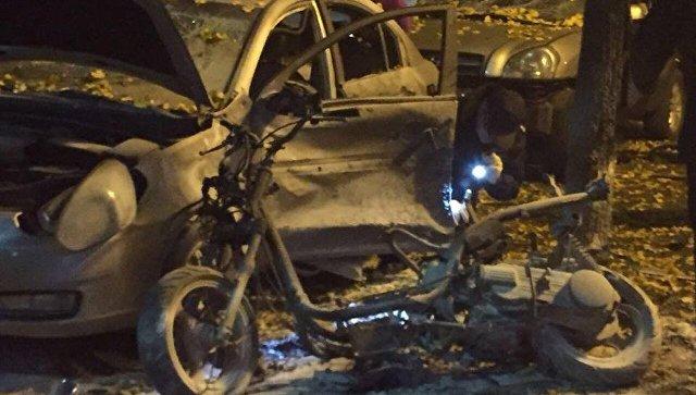 ВМВД Украины сообщили о«причастности России» ковзрыву вКиеве