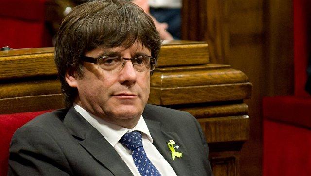 Генпрокурор Испании заявил, что статус Пучдемона не спасет его от ареста