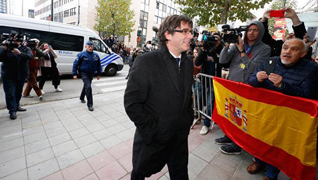Пучдемон может посетить парламент Каталонии на выборах главы женералитета