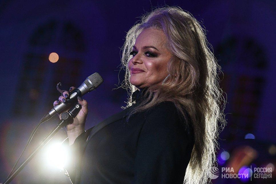 Певица Лариса Долина на церемонии вручения премии радио JAZZ 89.1 FM Все цвета джаза - 2017