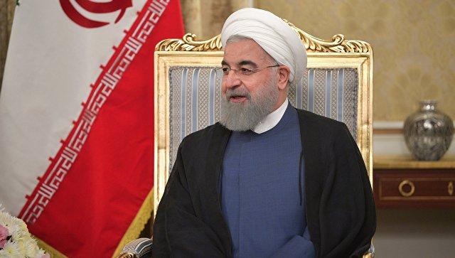 Роухани прокомментировал присутствие иностранных сил в Сирии
