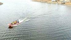 Поисково-спасательная операция на озере Аргази в Челябинской области