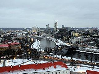 Панорама Вильнюса. Архивное фото
