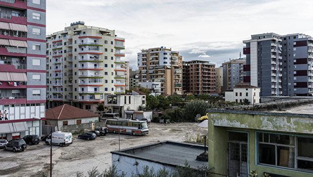 ВАлбании в итоге  взрыва пострадали шесть человек