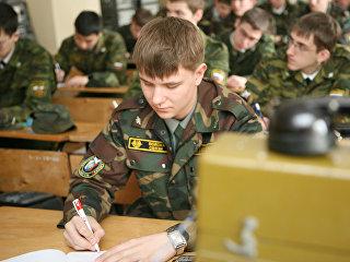 Военная кафедра. Архивное фото