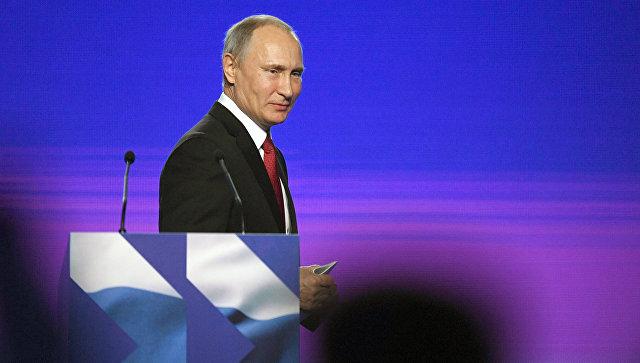 Путин поведал оросте снобжения деньгами соцпроектов в РФ
