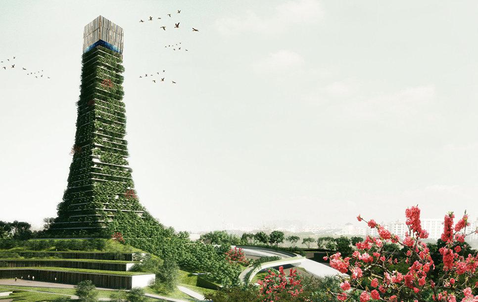 Вертикальный лес: как превратить бетонные джунгли городов в зеленый оазис